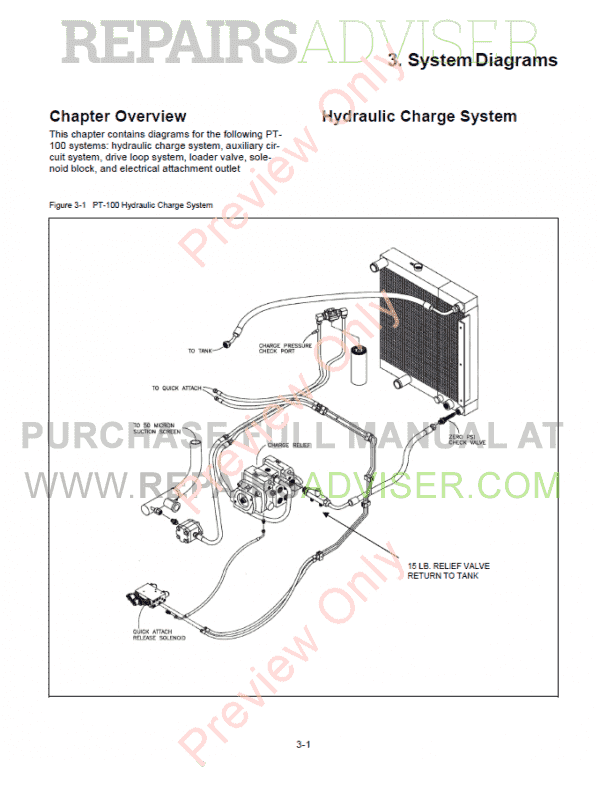 ASV RC-100 Rubber Track Loader PDF Parts and Service Manual