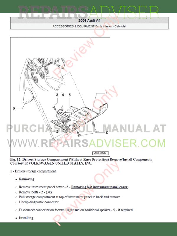 Audi a6 owners manual pdf car owners manuals mandegarfo publicscrutiny Images
