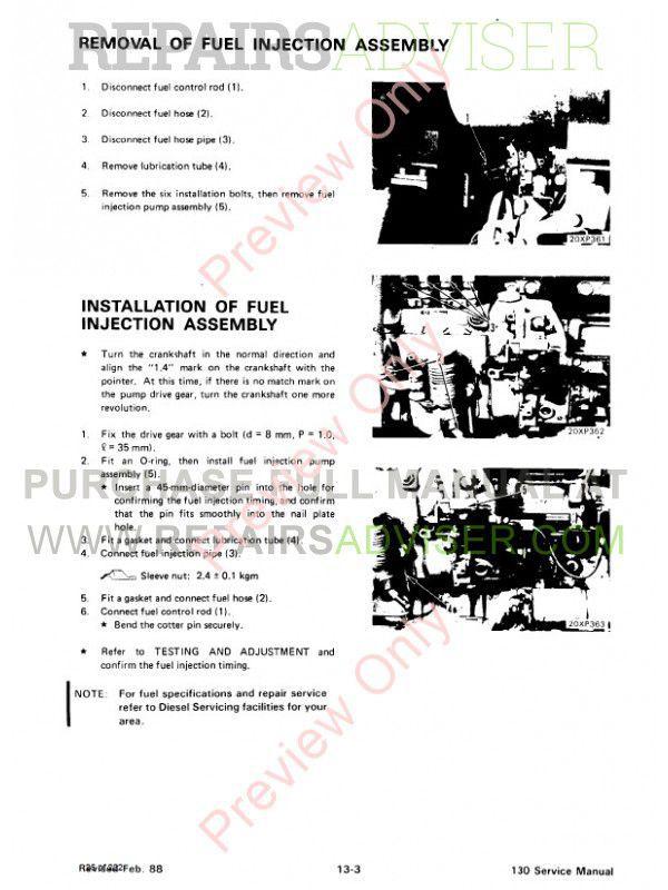 Bobcat 130 Hydraulic Excavator Service Manual PDF Download