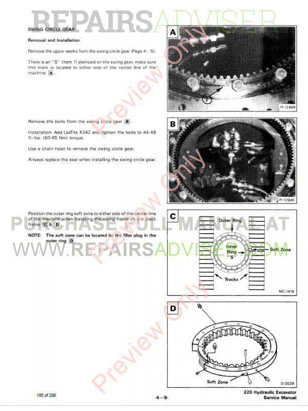 Case 220 Repair manual download