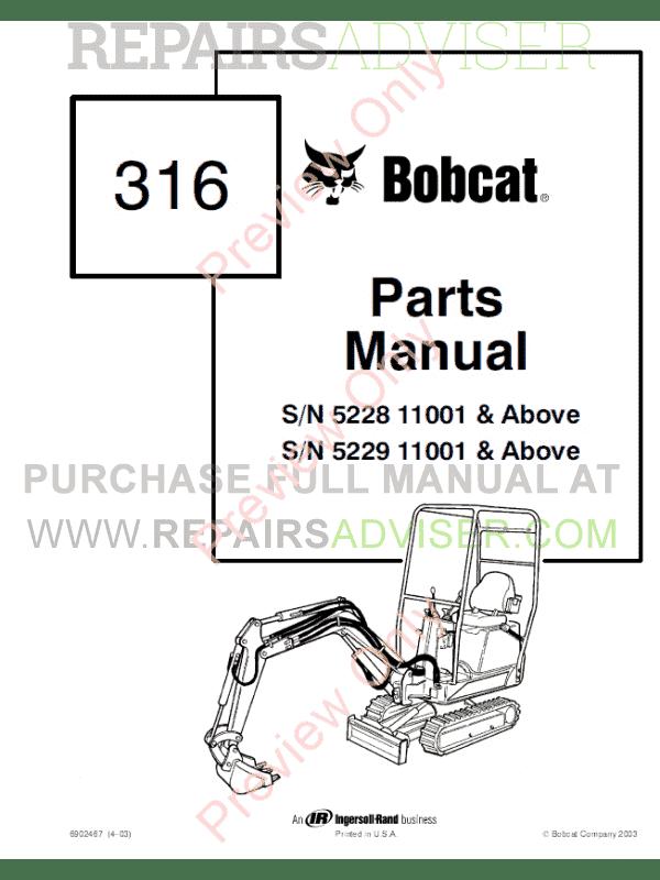 bobcat skid steer manual pdf