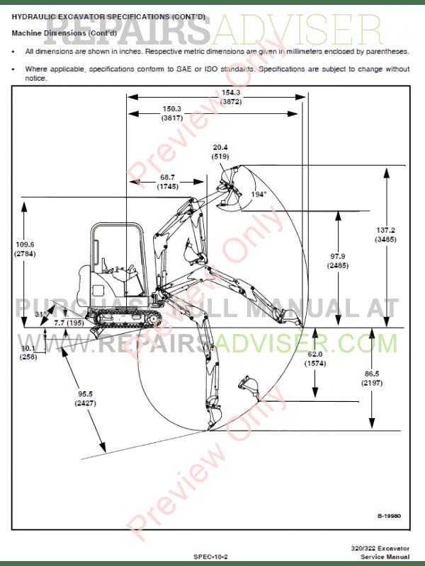 Bobcat 320 Repair manual