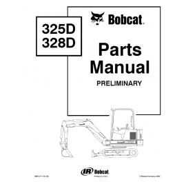 Bobcat 334 parts Manual