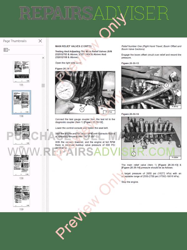 Bobcat 331 repair manual free