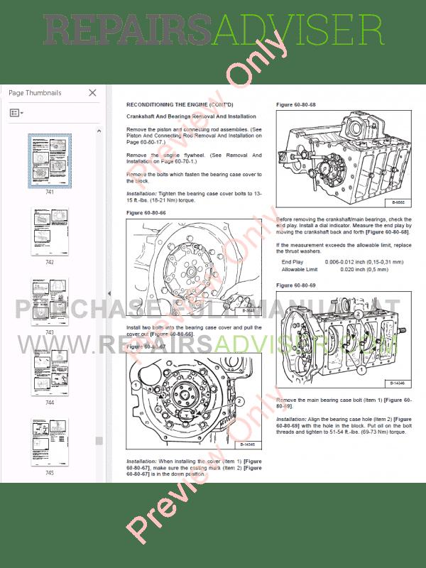 Bobcat 331, 331E, 334 Excavators D-Series Service Manual PDF