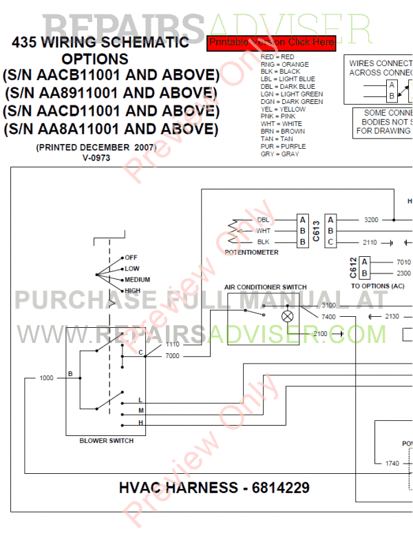 Bobcat Utv 2200 Parts Manual