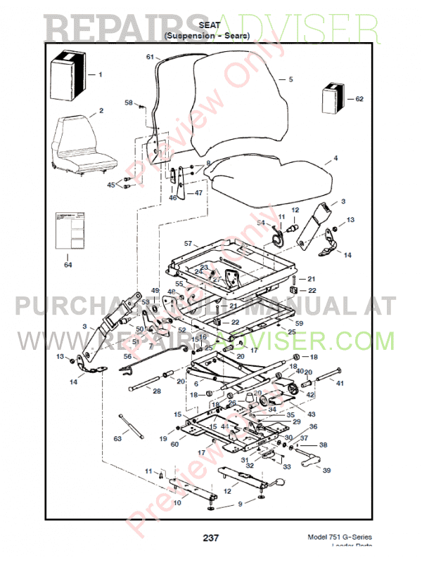 F Series Bobcat 863 Parts Diagram