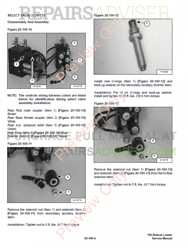 1996 bobcat 763 shop manual
