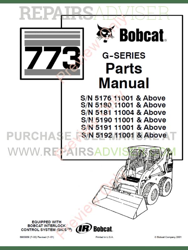 Bobcat 773 G