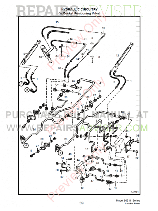 Bobcat G Series Skid Steer Loader X on John Deere Skid Steer Hydraulic Diagram