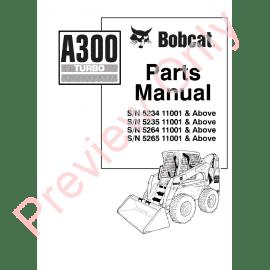 Download    Bobcat       S250   S300 Turbo    Parts       Diagram    Manual PDF