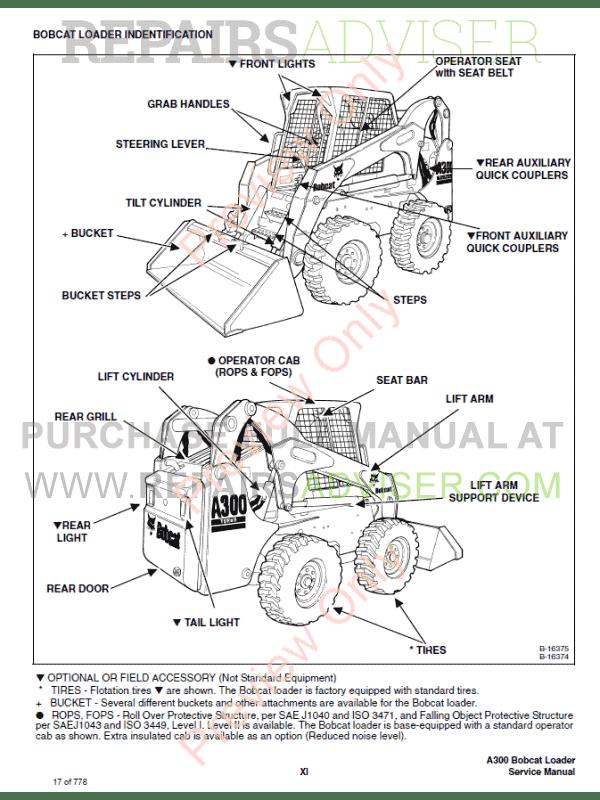 Bobcat a300 manual