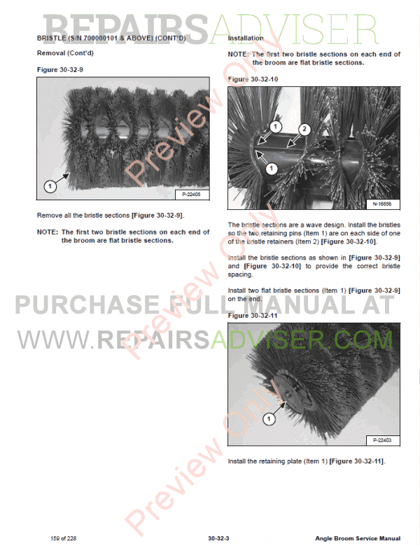 Bobcat Angle Broom PDF Service Manual, Bobcat Manuals by www.repairsadviser.com