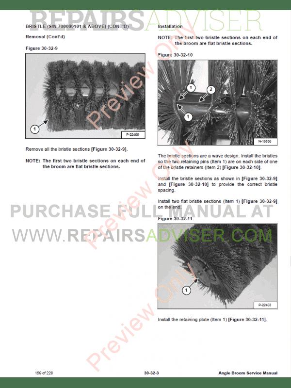 Bobcat       Angle       Broom    PDF Service Manual Download