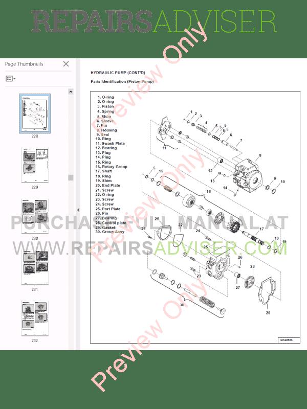 bobcat compact excavator 425 service manual pdf download