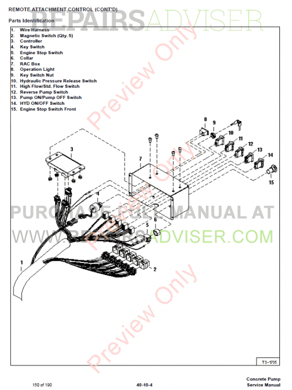 Basic Diesel Ignition Switch Wiring Diagram Bobcat - Wiring