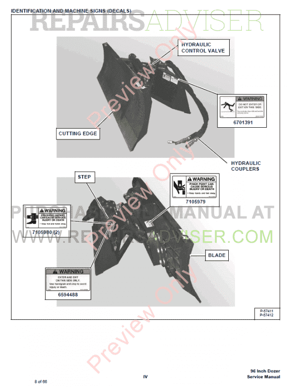 Bobcat Dozer 96 Inch Service Manual Pdf Download