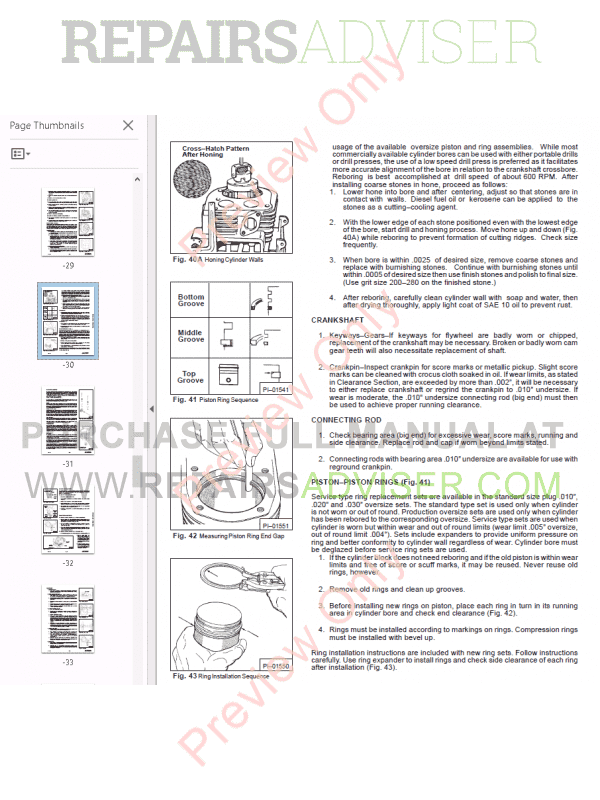 Bobcat Gasoline & L.P. Gas 371 Service Manual PDF, Bobcat Manuals by www.repairsadviser.com