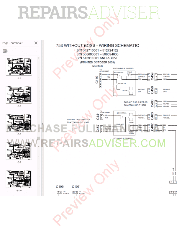 753 Bobcat Wiring Schematic - Wiring Diagrams Dock