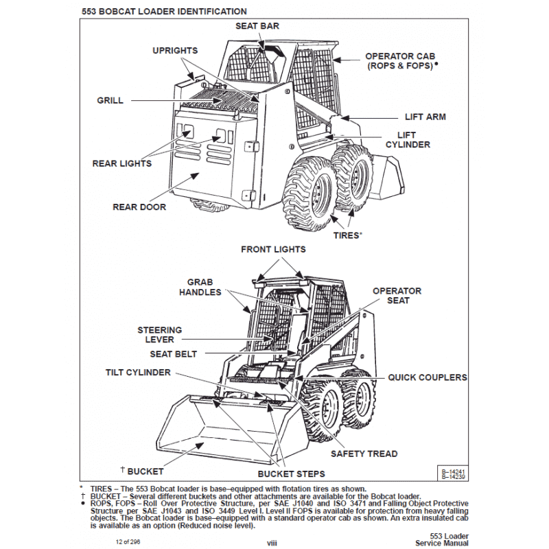 bobcat skid steer loader 553 service manual pdf download. Black Bedroom Furniture Sets. Home Design Ideas
