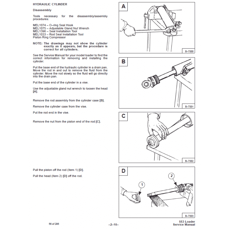 Bobcat Skid Steer Loader 553 Service Manual PDF, Bobcat Manuals by www.repairsadviser.com