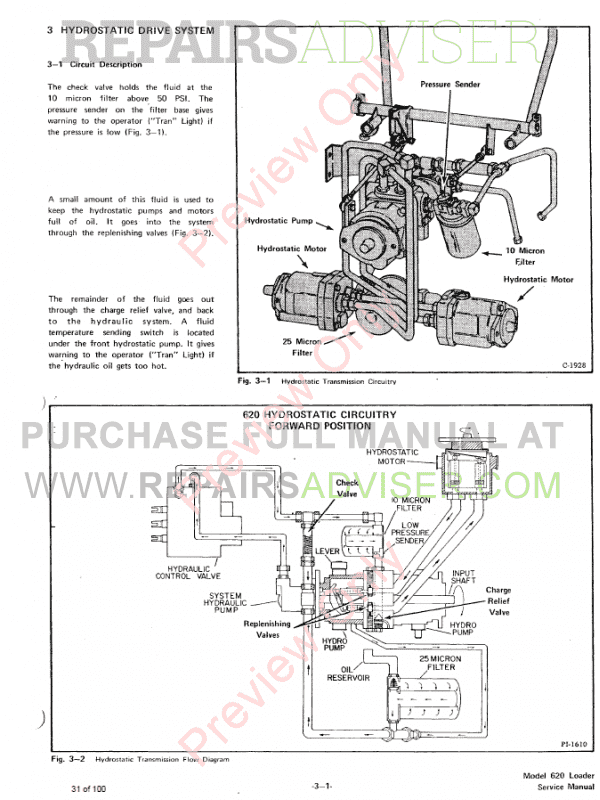 Bobcat Skid Steer Loader 620 Service Manual PDF, Bobcat Manuals by www.repairsadviser.com