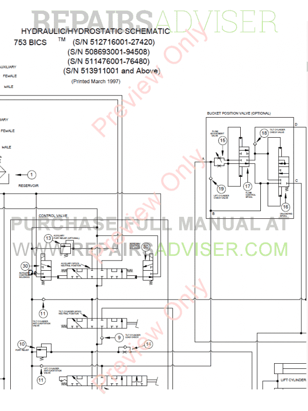 bobcat skid steer loader 753 service manual pdf, bobcat manuals by  www repairsadviser