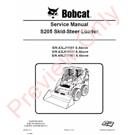 S650 bobcat operators manual