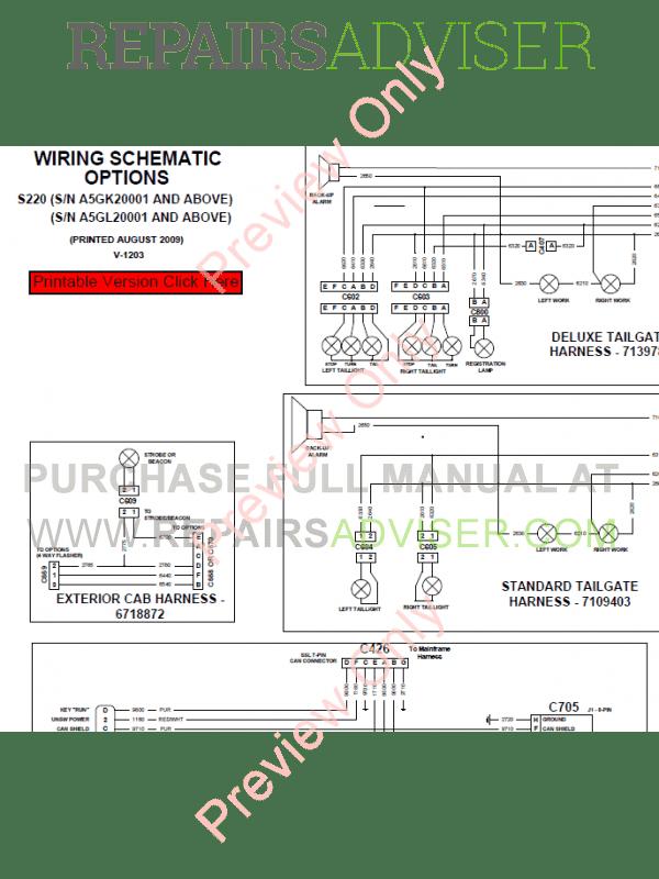 Bobcat s220 manual