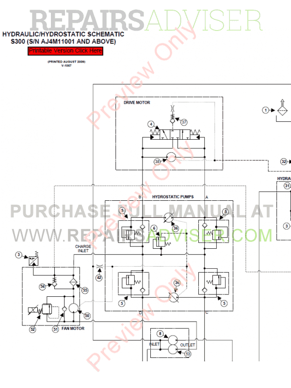 Bobcat S300 Schematic - Wiring Diagrams