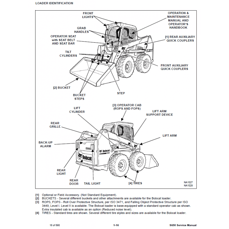 Bobcat Skid Steer Loader S630 Service Manual PDF, Bobcat Manuals by www.repairsadviser.com