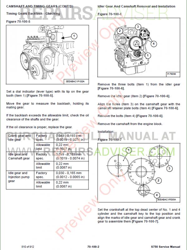 bobcat equipment parts manual