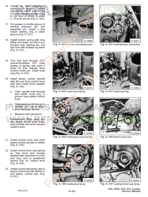 Bobcat Skid Steer Loaders 600, 600D, 610, 611 Service Manual PDF, Bobcat Manuals by www.repairsadviser.com