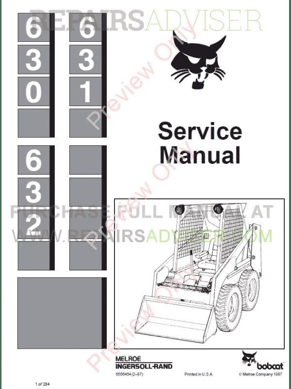 631 clark Bobcat Manual pdf