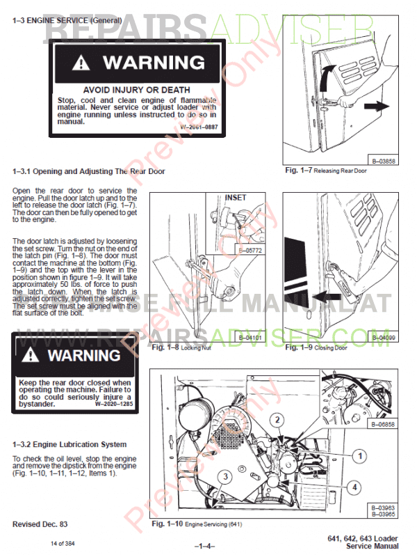 643 Bobcat Wiring Diagram - Wiring Diagrams Place