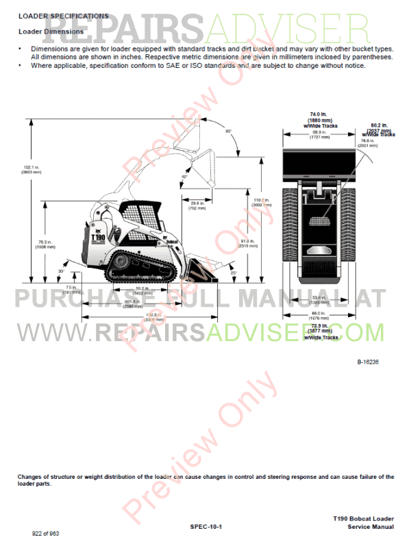 from use different doing specific care allows eliminate problems  conflicts  series no a3ln11001-a3lp11001  latest contains relevant  bobcat  t190 pact