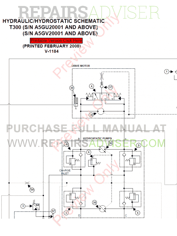 Manual For Bobcat T300 Track tension