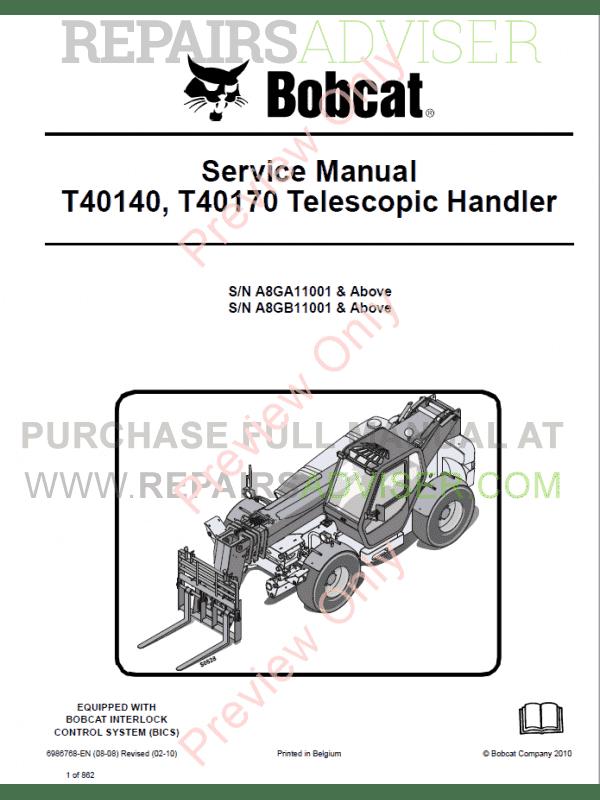 Bobcat Telescopic manual