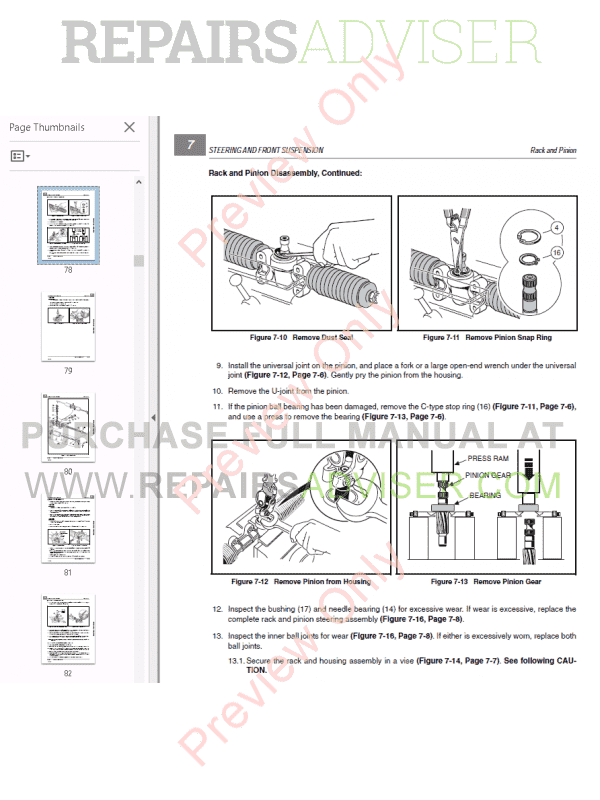 Bobcat Utility Vehicle 2200 Service Manual PDF, Bobcat Manuals by www.repairsadviser.com