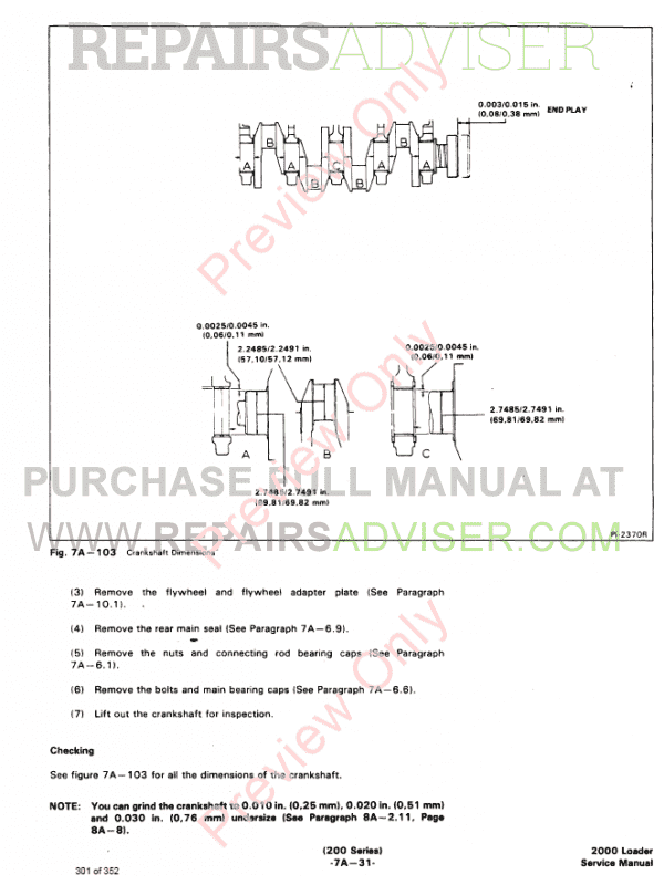 Bobcat Wheel Loader 2000 Service Manual PDF, Bobcat Manuals by www.repairsadviser.com