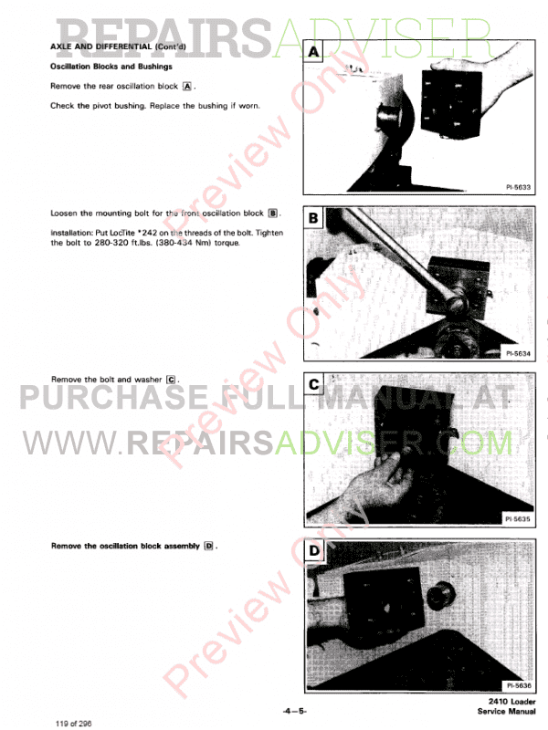 Bobcat Wheel Loader 2410 Service Manual PDF, Bobcat Manuals by www.repairsadviser.com