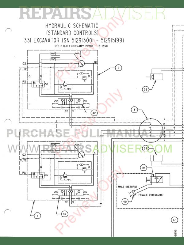 bobcat x 331, x 331e, x 334 excavator service manual pdf, manuals for