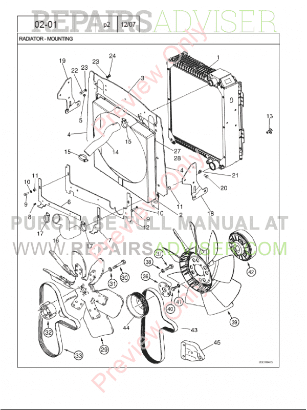 Case Backhoe Parts Diagram