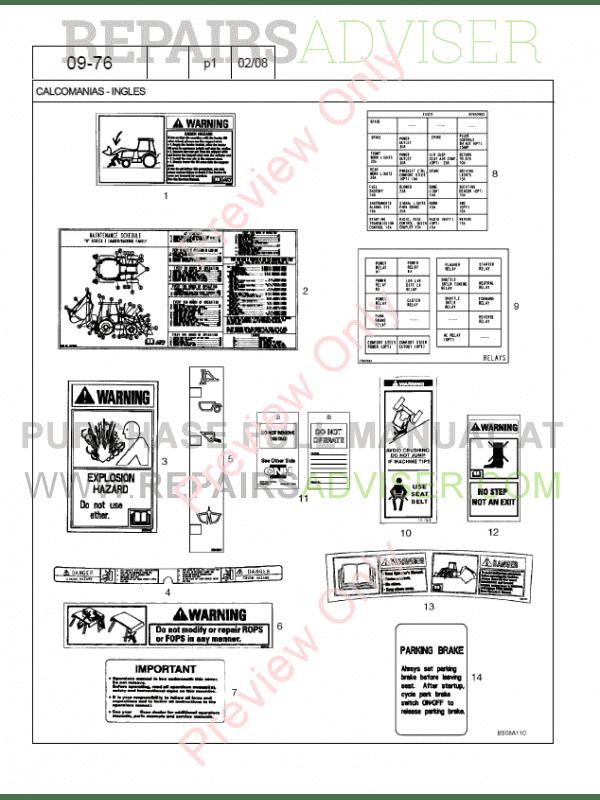 Case 580m Series 3 Loader Backhoe Parts Catalog Pdf Download