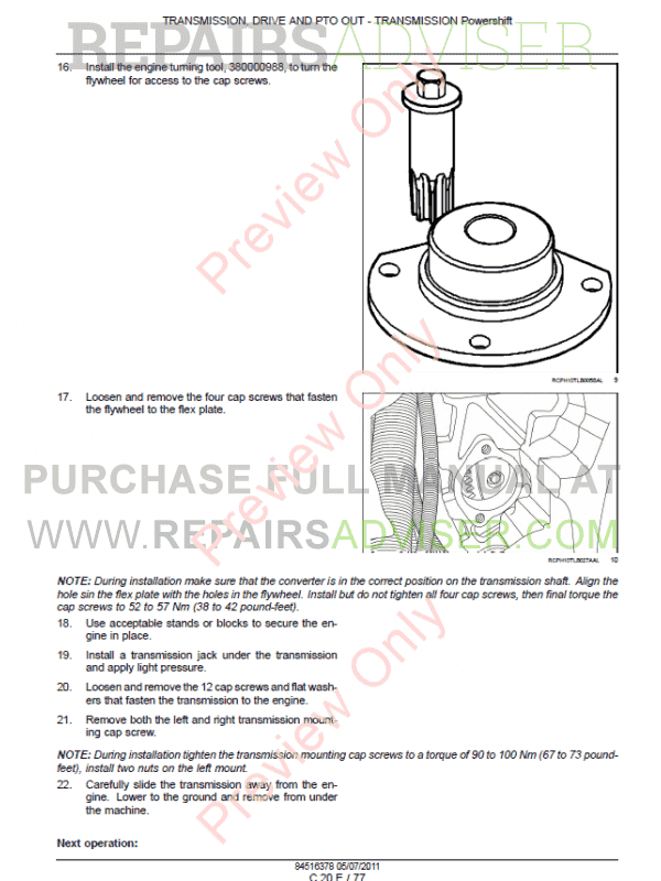 Case 580N, 580SN-WT, 580SN, 590SN Tractor Loader Backhoe Service + Operators Manuals PDF, Case Manuals by www.repairsadviser.com