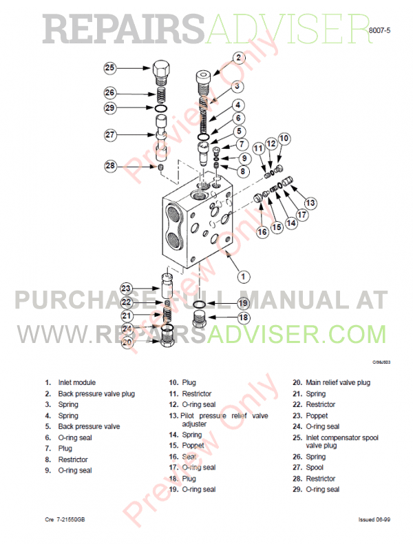 Case 750, 760, 860, 960, 965 Loader Backhoe Service Manual PDF, Case Manuals by www.repairsadviser.com