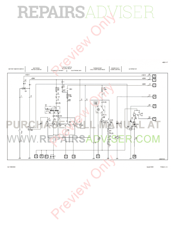 Case 788, 788 Plus, 988, 988 Plus Hydraulics Excavators Schematic Set PDF, Case Manuals by www.repairsadviser.com