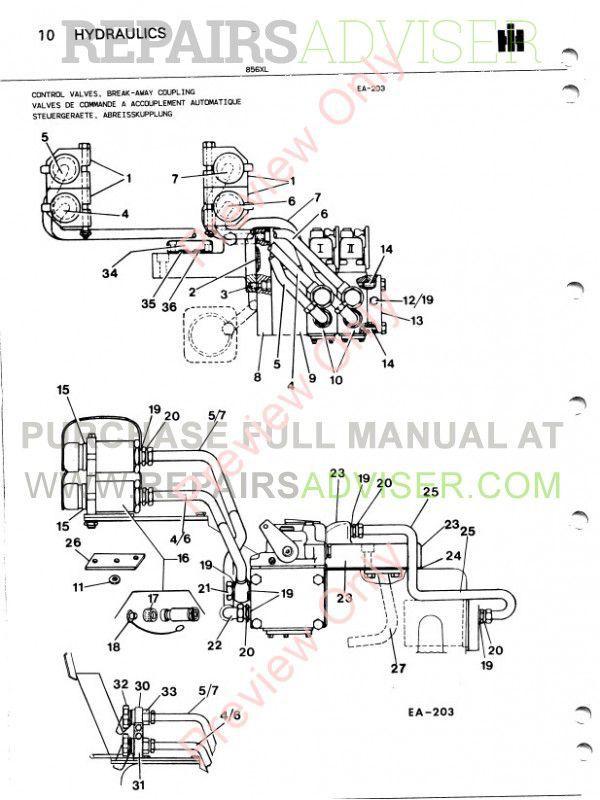 Case 856xl Tractor Parts Book Pdf Download