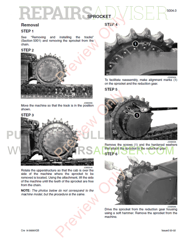 Case CX330, CX330NLC and CX350 Tier 3 Crawler Excavators Service Manual PDF, Case Manuals by www.repairsadviser.com