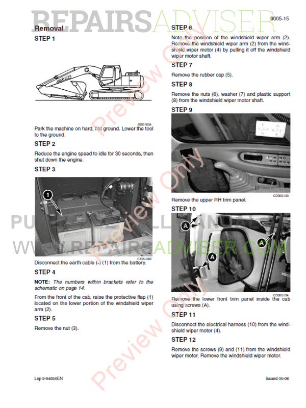 Case CX800 Tier 3 Crawler Excavator Service Manual PDF, Case Manuals by www.repairsadviser.com